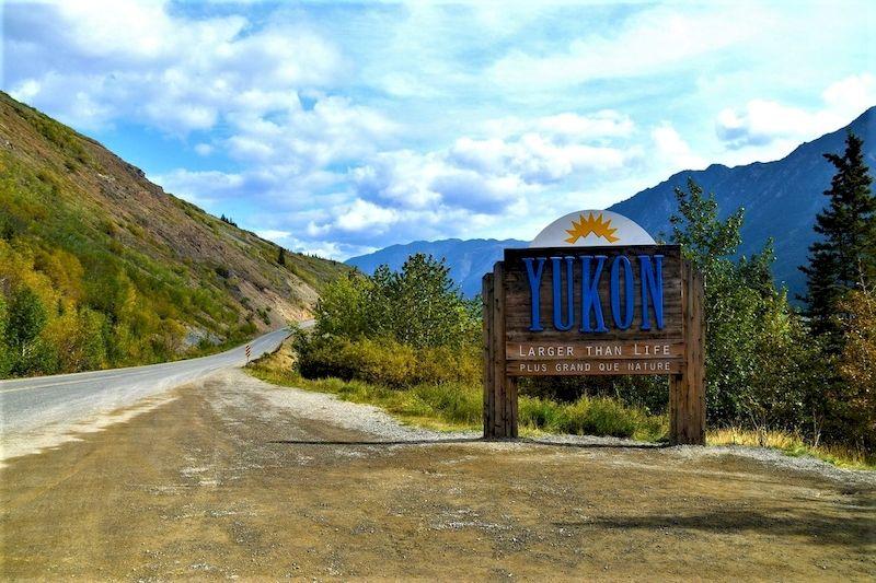 Le paysage du Yukon